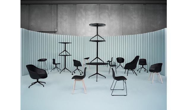 HAY - About A Table AAT20 - Ø128 x 73 cm - Gestell weiß/Tischplatte weiß - 3