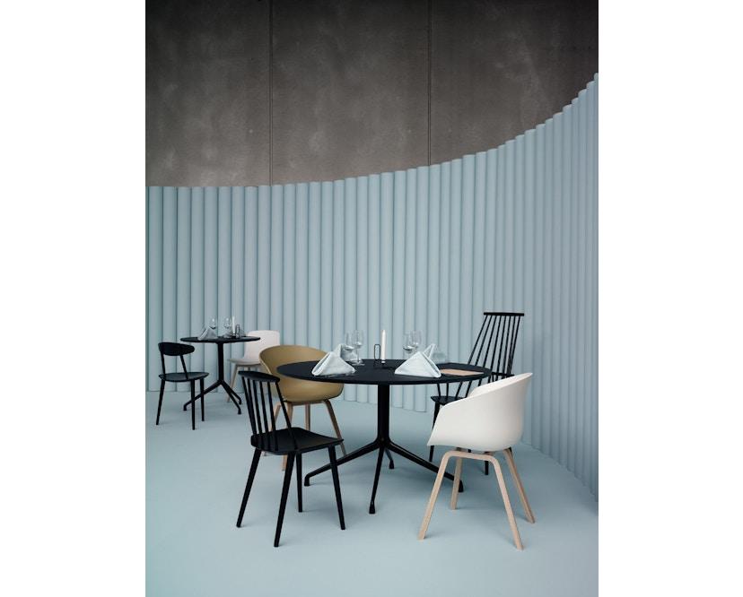 HAY - About A Table AAT20 - Ø128 x 73 cm - Gestell weiß/Tischplatte weiß - 4