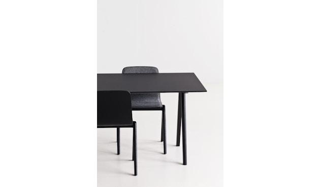 HAY - Copenhague CPH10 - 160 x 80 cm - Gestell Eiche geseift - Tischplatte Linoleum grau - 9