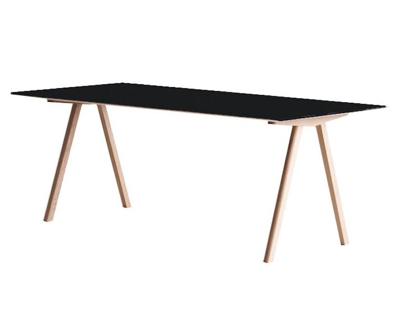 HAY - Copenhague CPH10 - 160 x 80 cm - Gestell klar lackiert - Tischplatte klar lackiert - 5