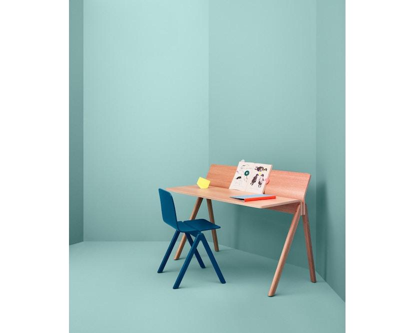 HAY - Copenhague CPH190 Schreibtisch - Gestell Eiche klar lackiert - Tischplatte Eiche lackiert - 3