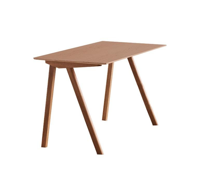 HAY - Copenhague CPH90 Schreibtisch - Gestell klar lackiert - Tischplatte klar lackiert - 7