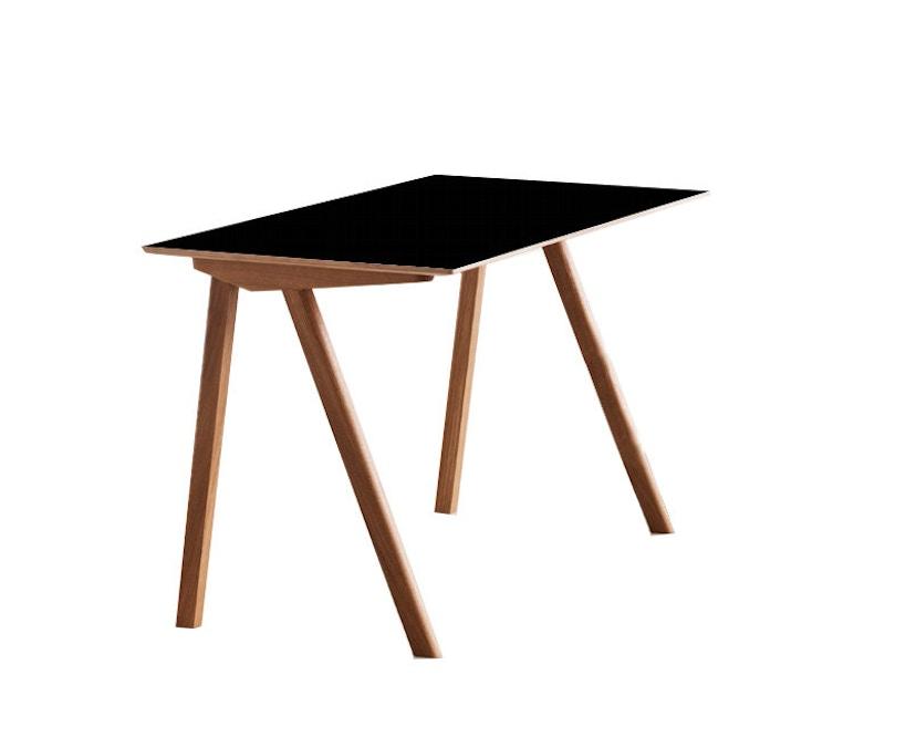 HAY - Copenhague CPH90 tafel - helder gelakt - zwart - 3