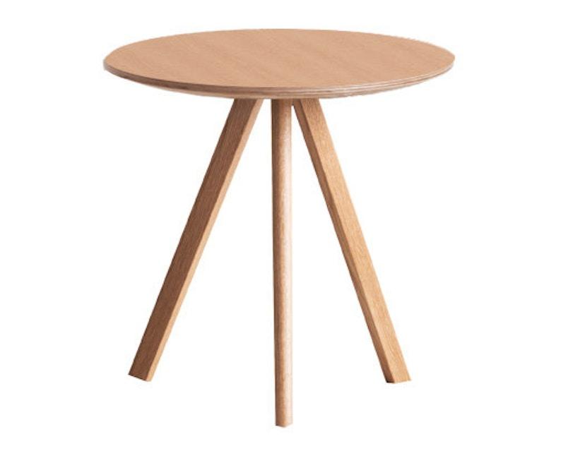 HAY - Copenhague CPH20 Couchtisch - Gestell klar lackiert - Tischplatte klar lackiert - 5
