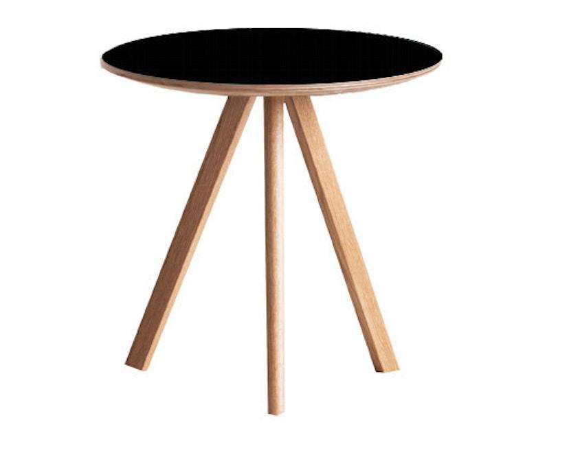 HAY - Table basse Copenhague CPH 20 - clair verni - noir - 5
