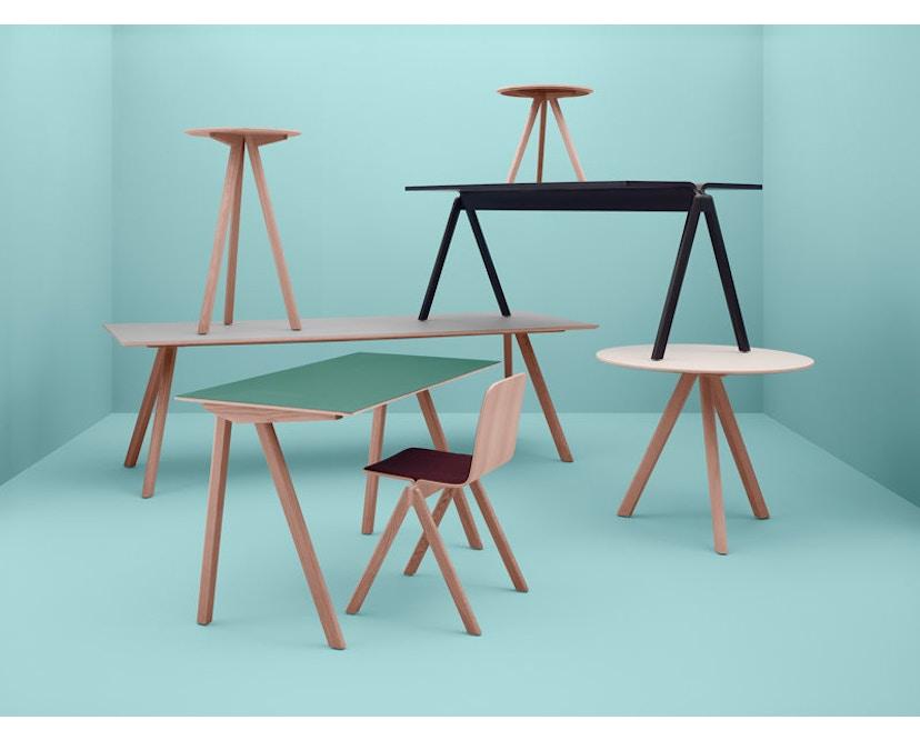HAY - Copenhague CPH30 tafel - 250 x 90 cm - zwart - Eik gezeept - 8