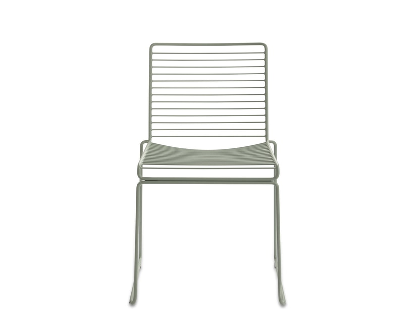 HAY - Hee Dining Chair - herfstgroen - 1