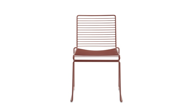 HAY - Hee Dining Chair - marron rouille - 1