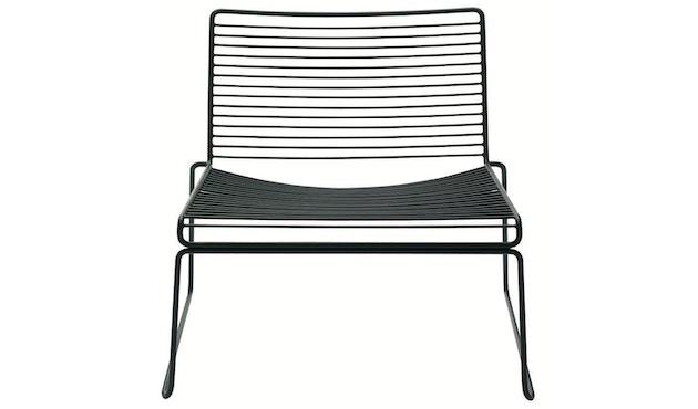 HAY - Hee Lounge Chair - zwart - 5