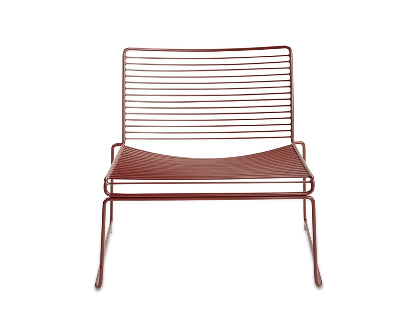 HAY - Hee Lounge Chair - roestbruin - 5