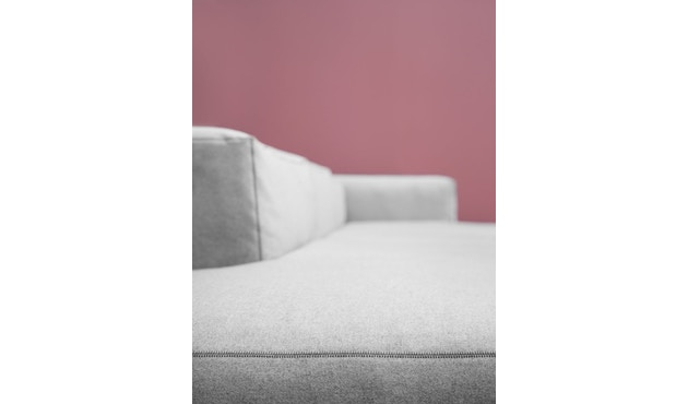 HAY - Mags Soft 2,5-zitter, bank - zwart - Hallingdal 110 - beige / lichtgrijs - 4