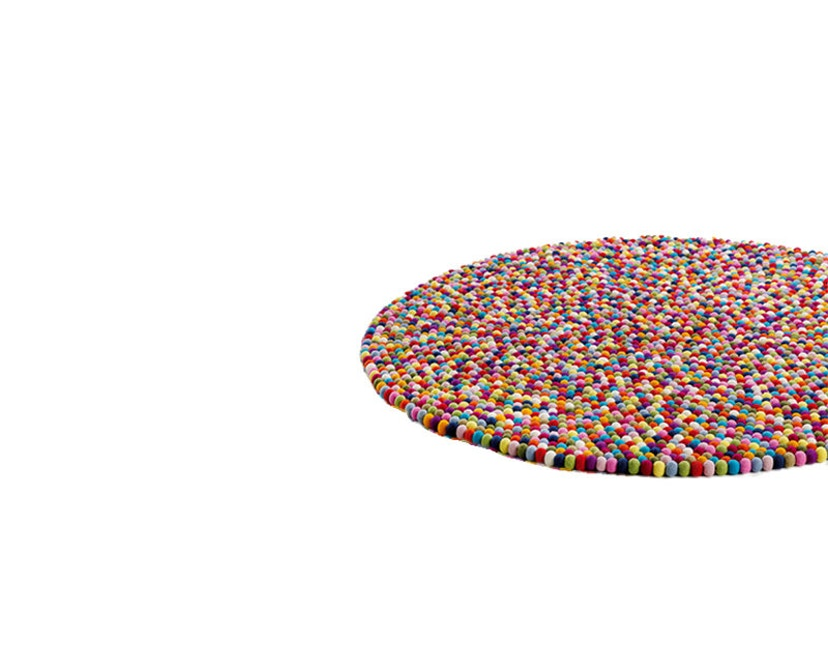 HAY - Vloerkleed Pinocchio - Ø 90 cm - multicolour - 4