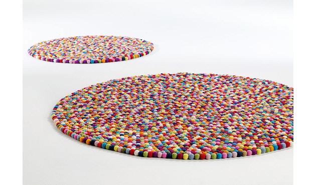 HAY - Vloerkleed Pinocchio - Ø 90 cm - multicolour - 5
