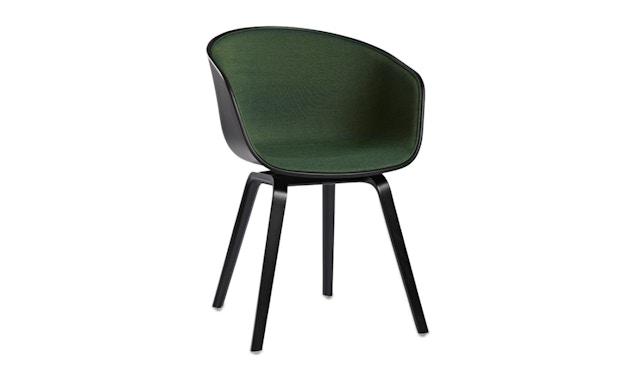 HAY - About a Chair AAC 22 - Spiegelpolsterung schwarz/Remix982 - 8