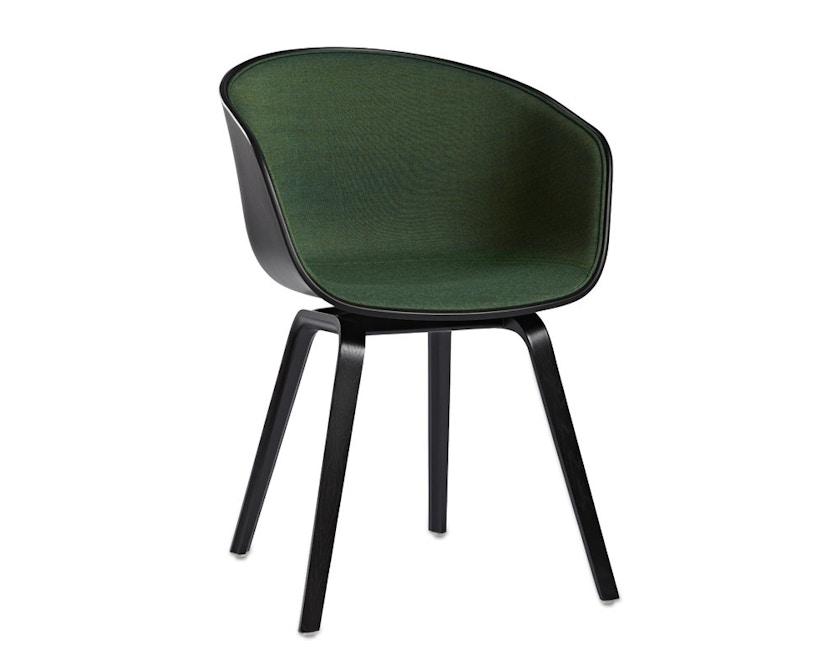 HAY - About a Chair AAC 22, rembourrage une face - Remix 982 - coque noir - 8