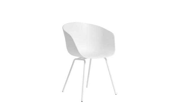 HAY - About a Chair AAC 26 - cremeweiß - Gestell pulverbeschichtet weiß - 2