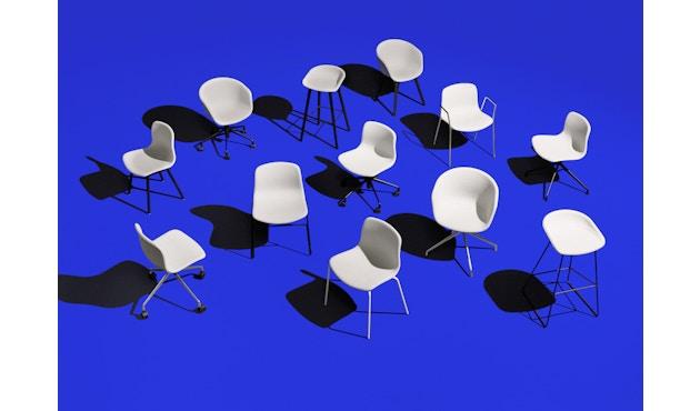 HAY - About a Chair AAC 26 - dusty green - Gestell pulverbeschichtet schwarz - 3