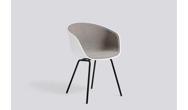 HAY - About a Chair AAC 26 - ziegel - Gestell pulverbeschichtet schwarz - 4