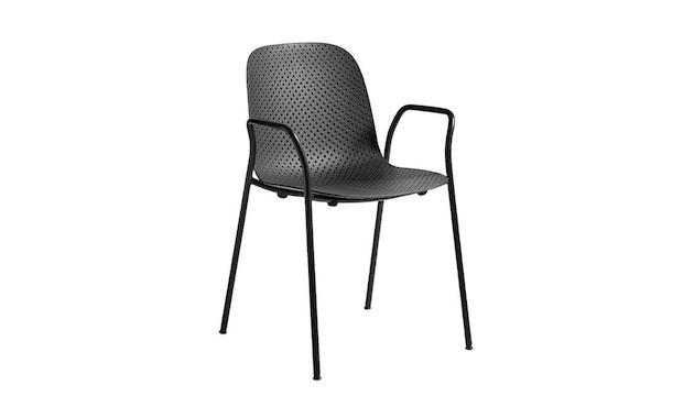 HAY - 13eighty Arm Chair - helles Schwarz - 2