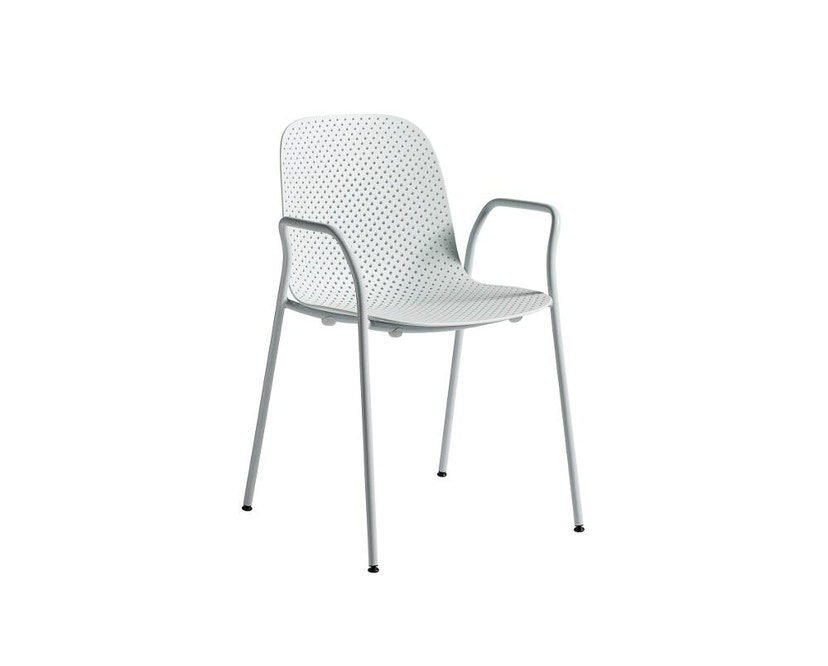 HAY - 13eighty Arm Chair - soft blue - 1