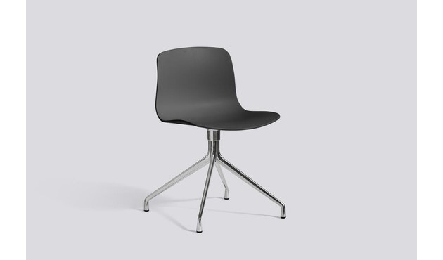 HAY - About a Chair AAC 10 - helles Schwarz/ soft black - poliert - 11