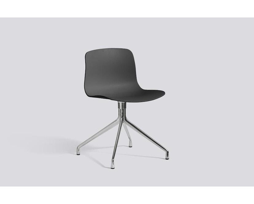 HAY - About a Chair AAC 10 - licht zwart - Aluminium, gepolijst - 11