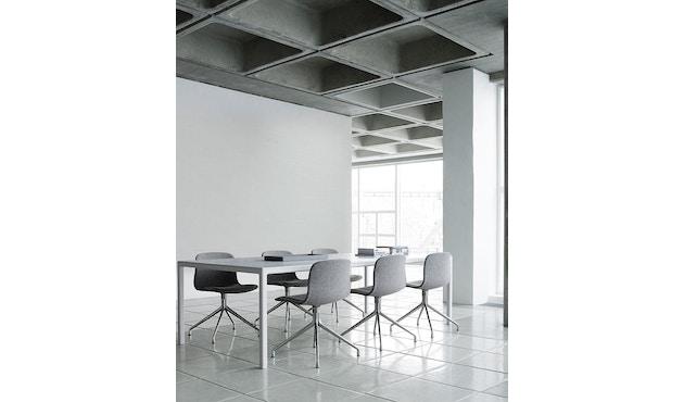 HAY - About a Chair AAC 10 - licht zwart - Aluminium, gepolijst - 12