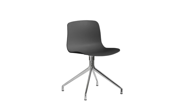 HAY - About a Chair AAC 10 - helles Schwarz/ soft black - poliert - 9