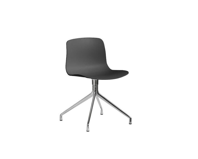 HAY - About a Chair AAC 10 - licht zwart - Aluminium, gepolijst - 9