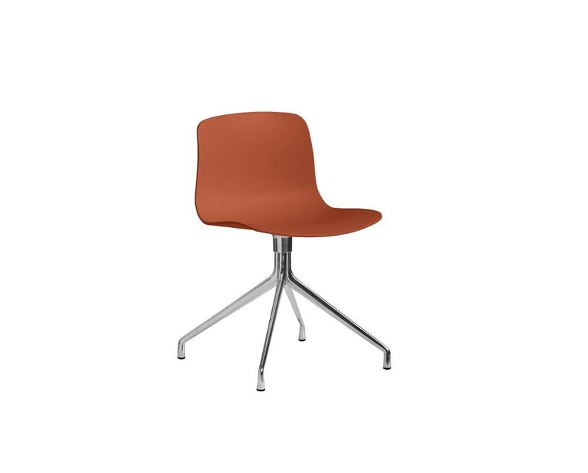 HAY - About a Chair AAC 10 - orange - alu poli - 9