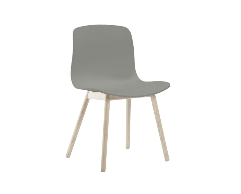 HAY - About a Chair AAC 12 - grau - Gestell Eiche geseift - 1