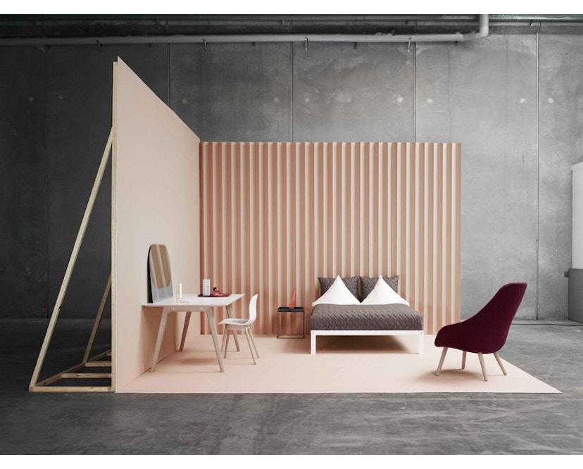 HAY - About a Chair AAC 12 - hellgrau - Gestell Eiche schwarz - 4