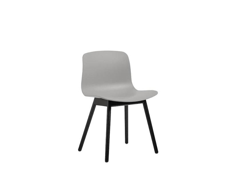 HAY - About a Chair AAC 12 - hellgrau - Gestell Eiche schwarz - 1