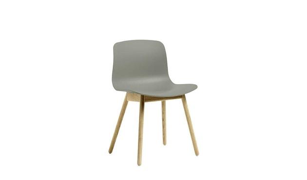 HAY - About a Chair AAC 12 - nebelgrün - Gestell Eiche schwarz - 3