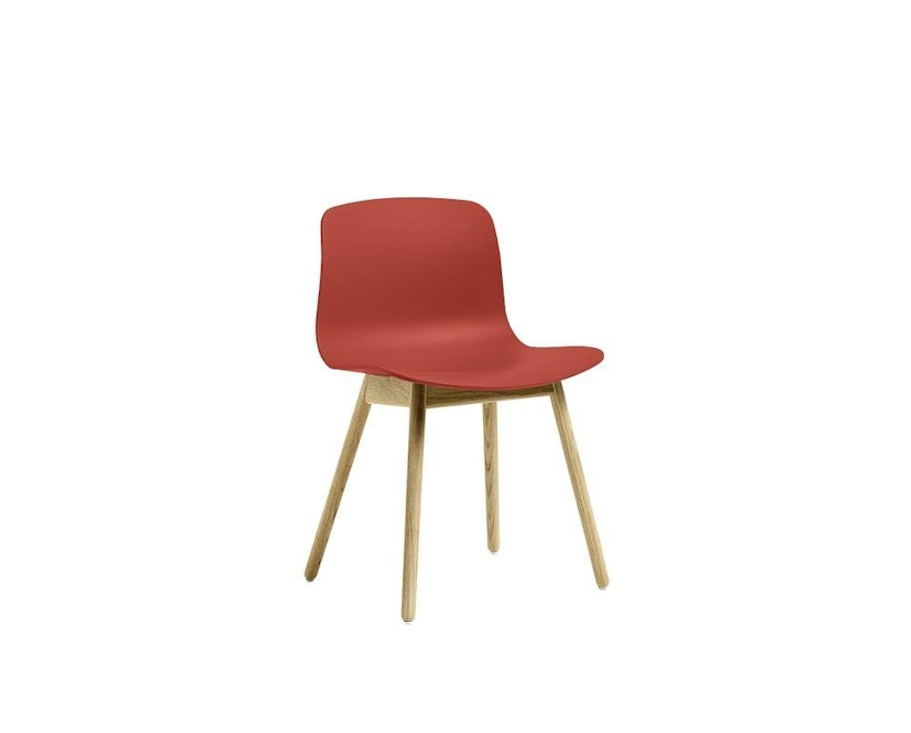 HAY - About a Chair AAC 12 - warm rood - helder gelakt - 3