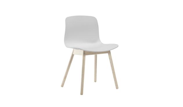 HAY - About a Chair AAC 12 - weiß - Gestell Eiche matt lackiert - 1