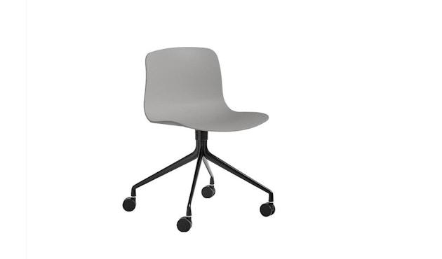 HAY - About a Chair AAC 14 - betongrau - Gestell schwarz - 1