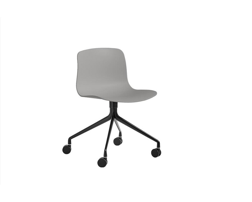 HAY - About a Chair AAC 14 - betongrijs - zwart - 1