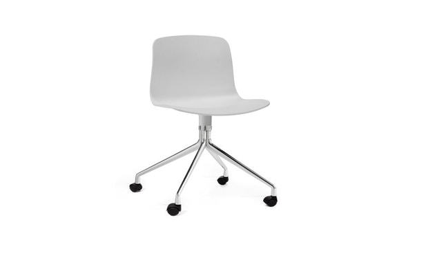 HAY - About a Chair AAC 14 - wit - Aluminium, gepolijst - 4