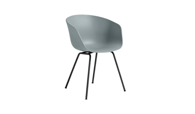 HAY - About a Chair AAC 26 - grijsblauw - wit - 2