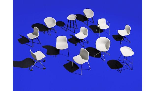 HAY - About a Chair AAC 26 - zwart - betongrijs - 3