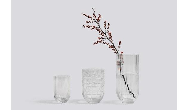HAY - Colour Vase - transparent - M - 2