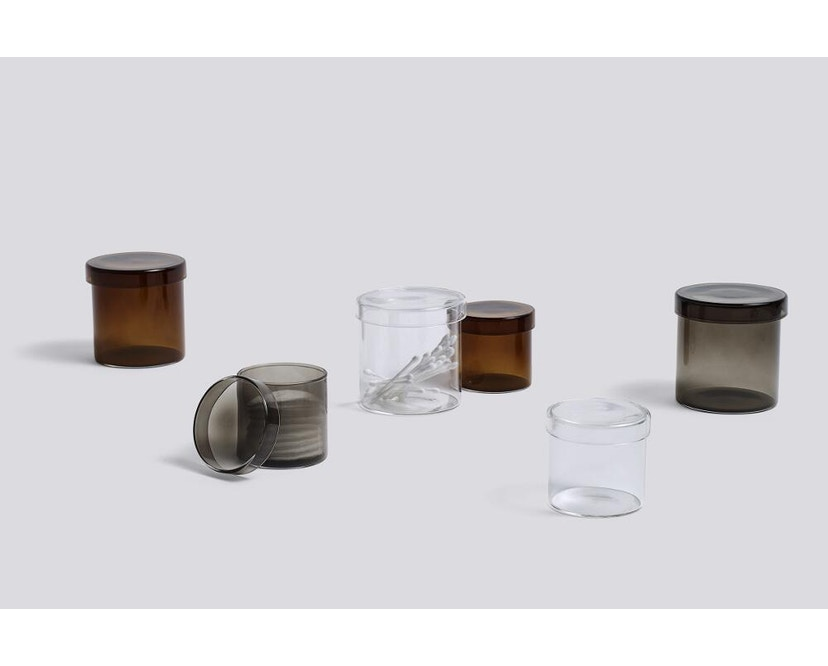 HAY - Container Aufbewahrungsglas - transparent - S - 2