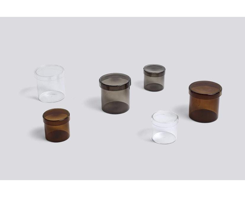 HAY - Container Aufbewahrungsglas - transparent - S - 3