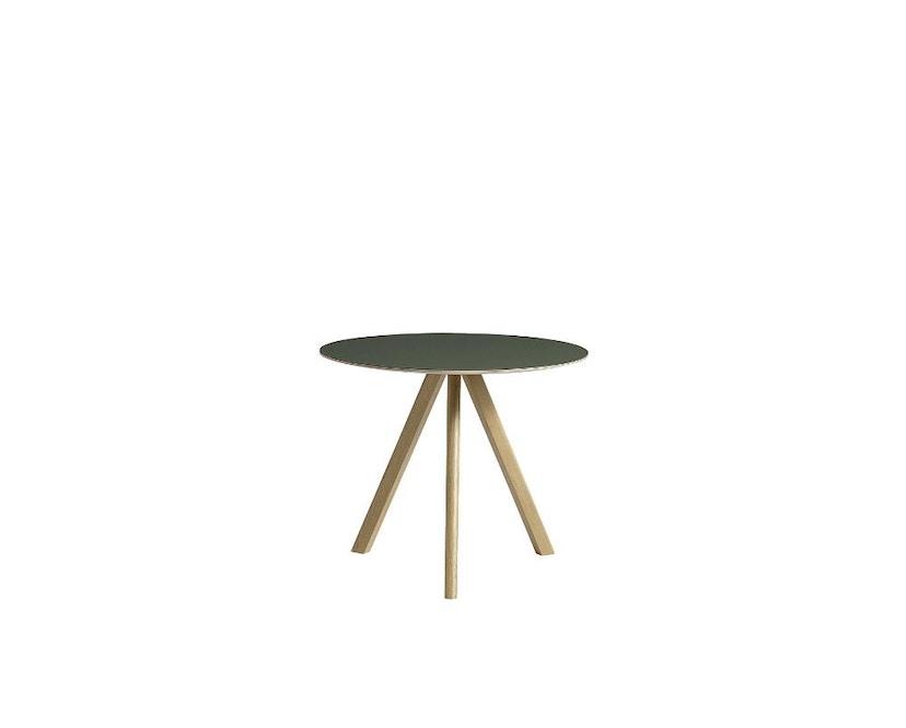 HAY - Table Copenhague CPH20 - vert - clair verni - Ø 90 cm - 7