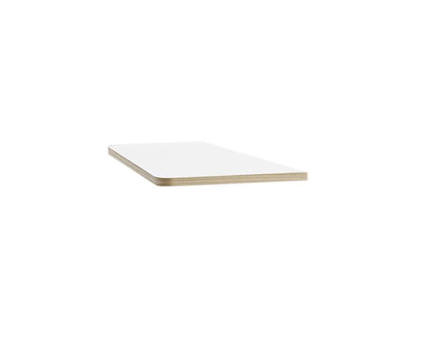 HAY - Uitschuifbare verlengplaat met frame - Es laminaat wit - 1