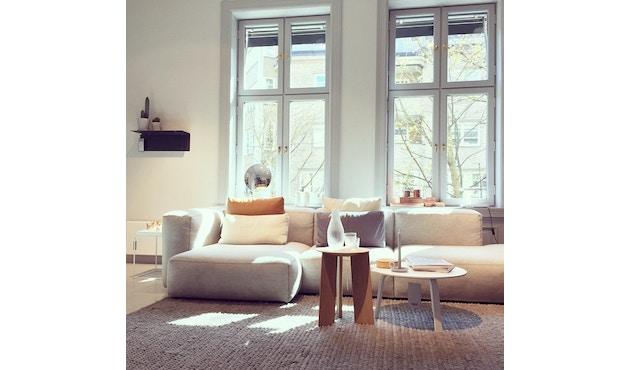 HAY - Mags Soft hoekbank - Hallingdal 110 - beige / lichtgrijs - zwart - 9