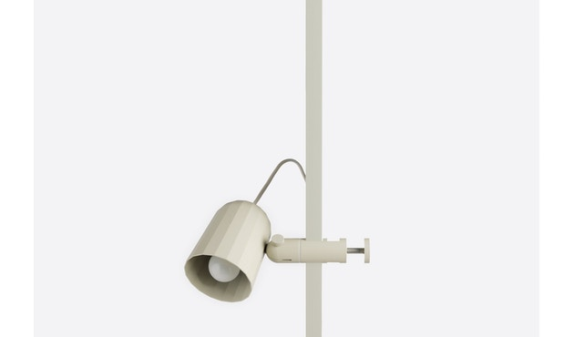 HAY - Noc Clip Light klemlamp - wit - 1