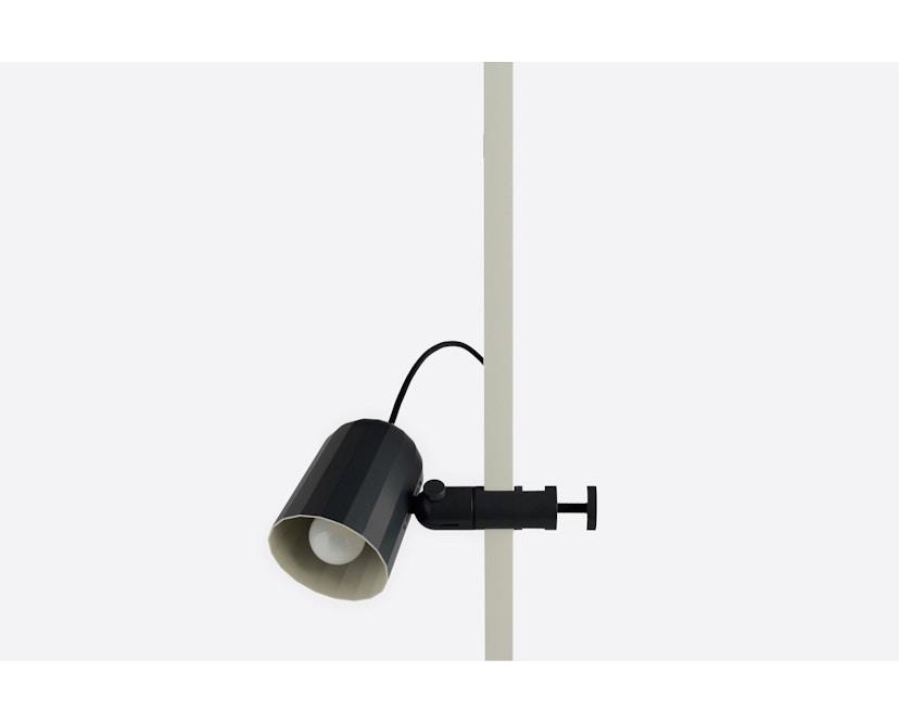 HAY - Noc Clip Light Klemmleuchte - dunkelgrau - 1