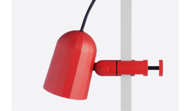 HAY - Noc Clip Light Klemmleuchte - rot - 2